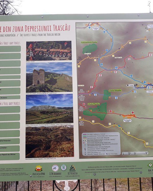 From Sibiu 1 day tour: Trascau region - Valisoarei gorges